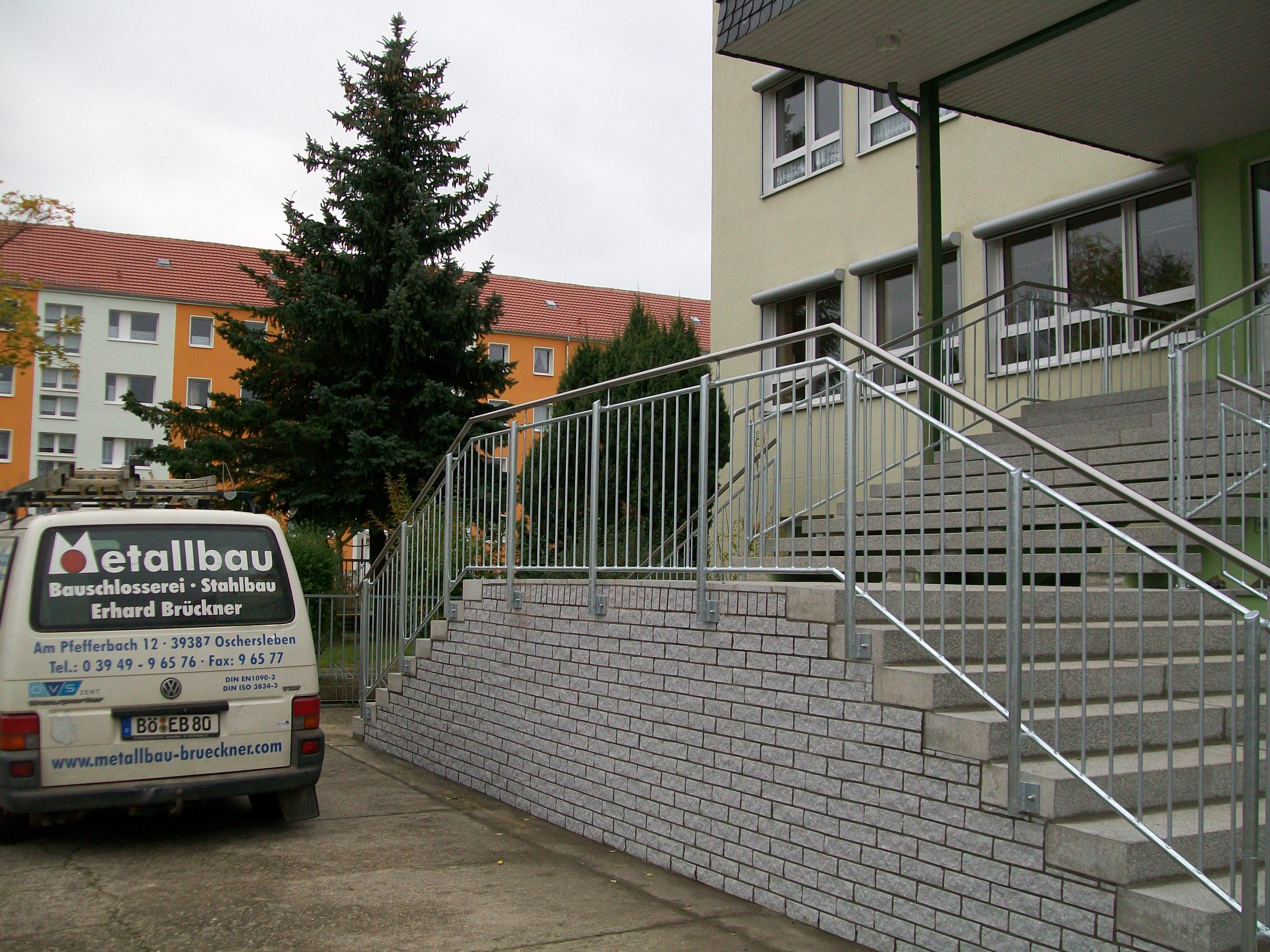 Außengeländer | Metallbau Brückner – Inhaber H. Kiowski