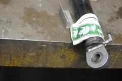 Stahlfetzt-Zylinderreparatur