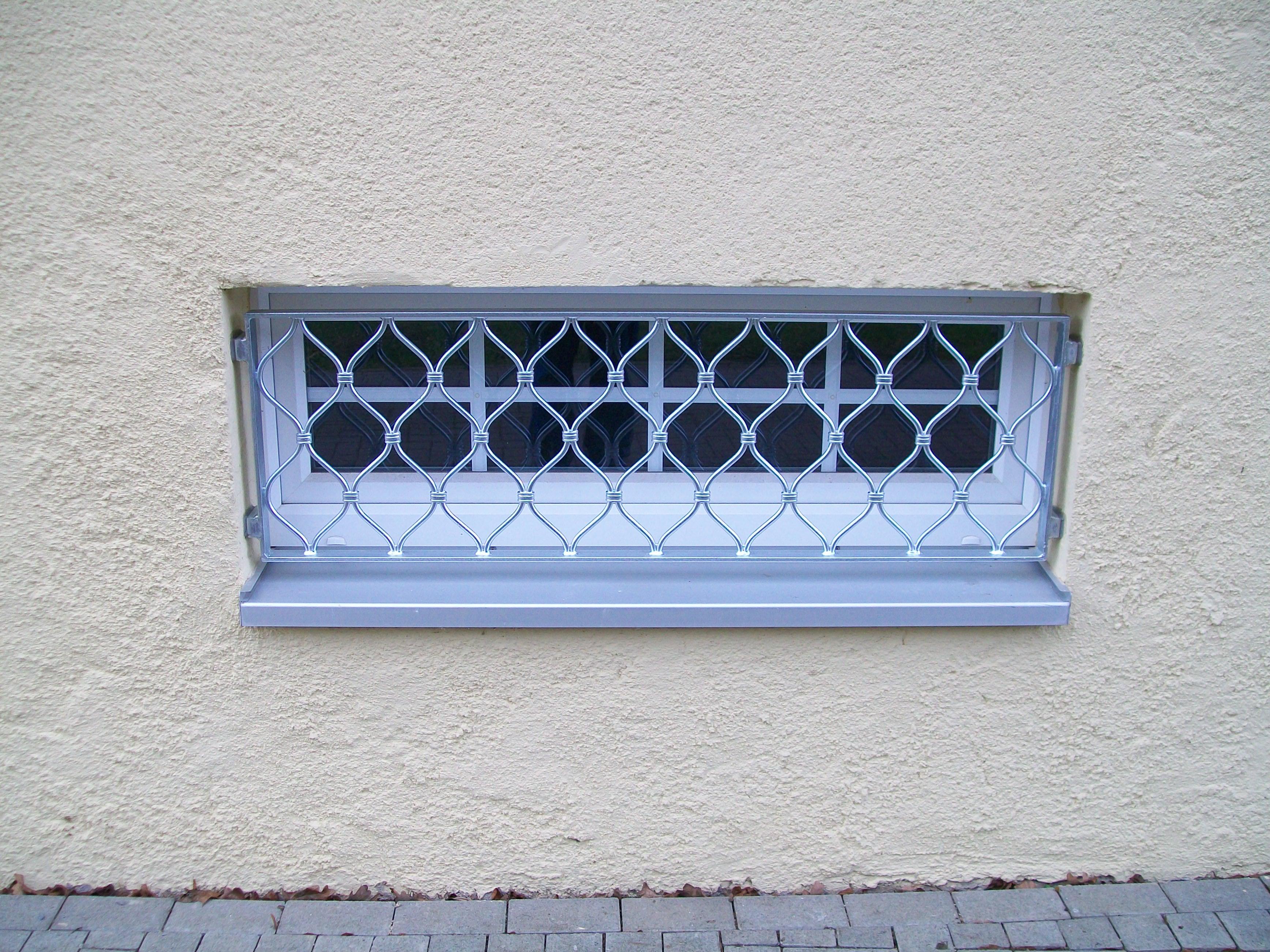 Kellerfenster schön und sicher